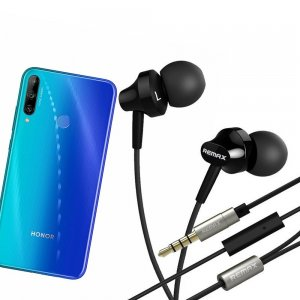 Наушники для Huawei Honor 9C с микрофоном