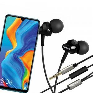 Наушники для Huawei P30 Lite с микрофоном