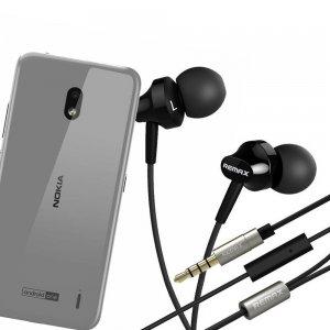 Наушники для Nokia 2.2 с микрофоном