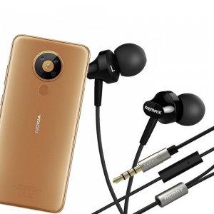 Наушники для Nokia 5.3 с микрофоном