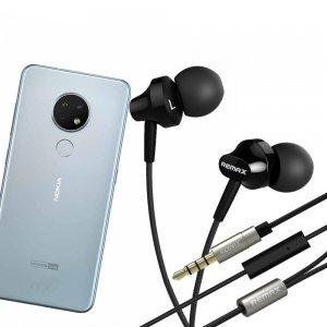 Наушники для Nokia 6.2 с микрофоном