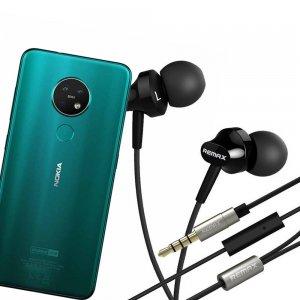 Наушники для Nokia 7.2 с микрофоном