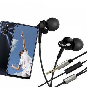 Наушники для OPPO A52 / A72 с микрофоном