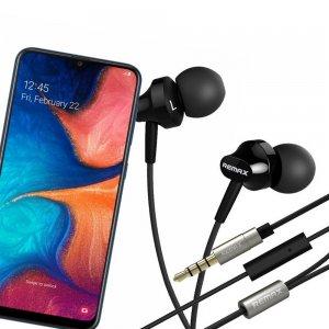Наушники для Samsung Galaxy A30 / A20 с микрофоном