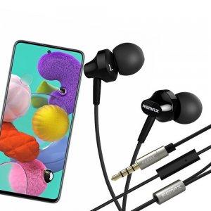 Наушники для Samsung Galaxy A51 с микрофоном