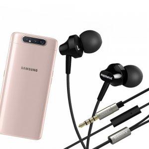 Наушники для Samsung Galaxy A80 с микрофоном