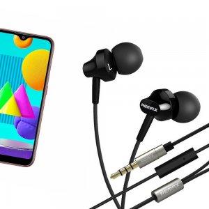 Наушники для Samsung Galaxy M01 с микрофоном