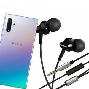 Наушники для Samsung Galaxy Note 10 Plus / 10+ с микрофоном