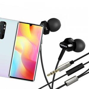 Наушники для Xiaomi Mi Note 10 Lite с микрофоном