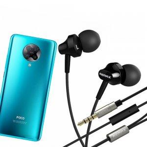 Наушники для Xiaomi Poco F2 Pro с микрофоном