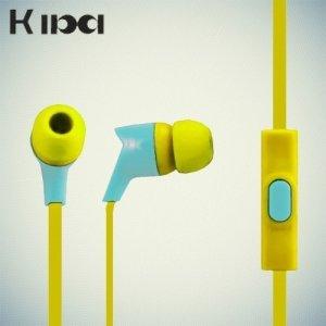 Наушники гарнитура KIBA желтый