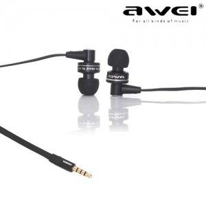 Наушники гарнитура с микрофоном Awei ES900i Черные