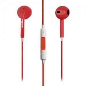 Наушники гарнитура с микрофоном SMARTBUY WOW Красные