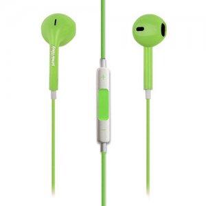 Наушники гарнитура с микрофоном SMARTBUY WOW Зеленые