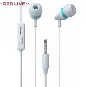Наушники гарнитура с микрофоном Red Line SP06 - Белые