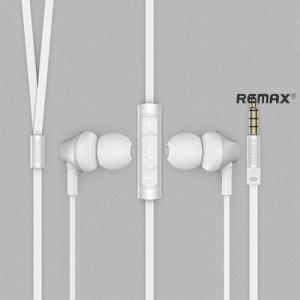 Наушники гарнитура с микрофоном Remax RM-610D Белые