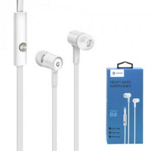 Наушники гарнитура с микрофоном Dream Stereo Headset SH1 Белые