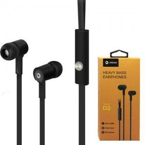 Наушники гарнитура с микрофоном Dream Stereo Headset SH1 Черные