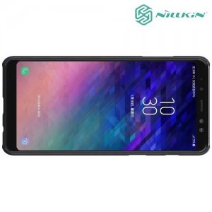 NILLKIN Air охлаждающий перфорированный чехол для Samsung Galaxy A8 2018 - Черный