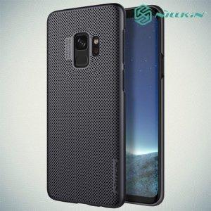 NILLKIN Air охлаждающий перфорированный чехол для Samsung Galaxy S9 - Черный