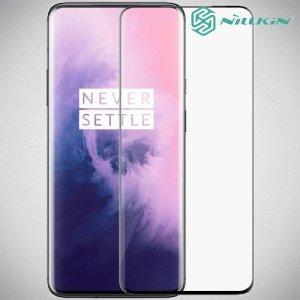 NILLKIN Amazing 3D CP+ Противоударное Полноэкранное Олеофобное Защитное Стекло для OnePlus 7 Pro Черное