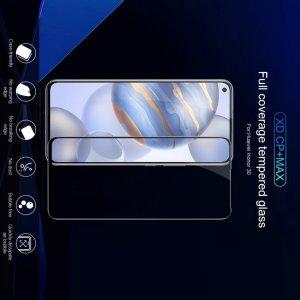 NILLKIN Amazing CP+ Противоударное Полноэкранное Олеофобное Защитное Стекло для Huawei Honor 30 Черное