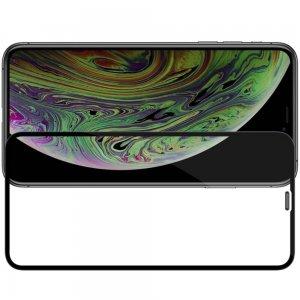 NILLKIN Amazing CP+ Противоударное Полноэкранное Олеофобное Защитное Стекло для iPhone 11 Pro Max Черное