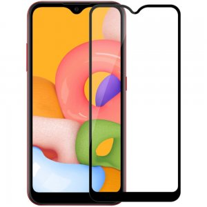 NILLKIN Amazing CP+ Противоударное Полноэкранное Олеофобное Защитное Стекло для Samsung Galaxy A01 Прозрачное