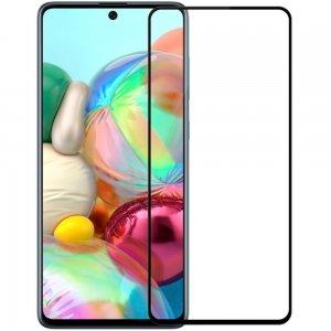 NILLKIN Amazing CP+ Противоударное Полноэкранное Олеофобное Защитное Стекло для Samsung Galaxy A71 Черная рамка