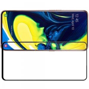 NILLKIN Amazing CP+ Противоударное Полноэкранное Олеофобное Защитное Стекло для Samsung Galaxy A80 Черное