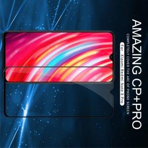 NILLKIN Amazing CP+ Противоударное Полноэкранное Олеофобное Защитное Стекло для Xiaomi Redmi Note 8 Pro Красное