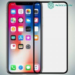 NILLKIN 3D AP+ PRO стекло с силиконовыми рамками на весь экран для iPhone XS Max