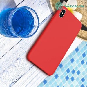 Nillkin Flex Case чехол накладка дляi Phone XS Max - Красный
