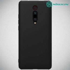 NILLKIN Flex Мягкий силиконовый чехол для Xiaomi Mi 9T с микрофибровой подкладкой черный