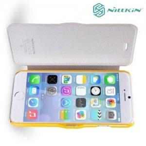 Nillkin Fresh чехол книжка для iPhone 6S / 6 - Желтый