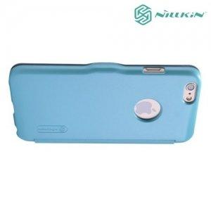 Nillkin Fresh чехол книжка для iPhone 6S / 6 - Голубой