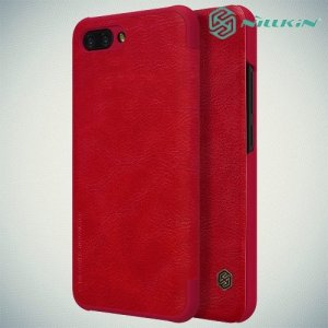 NILLKIN Qin чехол флип кейс для Huawei Honor 10 - Красный