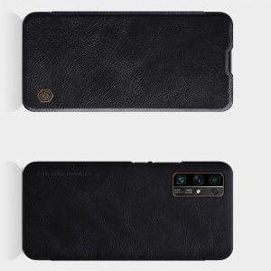 NILLKIN Qin чехол флип кейс для Huawei Honor 30 - Черный