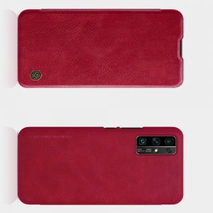 NILLKIN Qin чехол флип кейс для Huawei Honor 30 - Красный