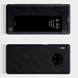 NILLKIN Qin чехол флип кейс для Huawei Mate 30 Pro - Черный