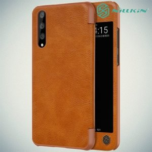 NILLKIN Qin чехол флип кейс для Huawei P20 Pro - Коричневый