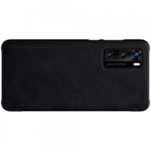 NILLKIN Qin чехол флип кейс для Huawei P40 - Черный