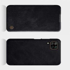 NILLKIN Qin чехол флип кейс для Huawei P40 Lite - Черный