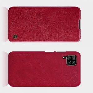 NILLKIN Qin чехол флип кейс для Huawei P40 Lite - Красный
