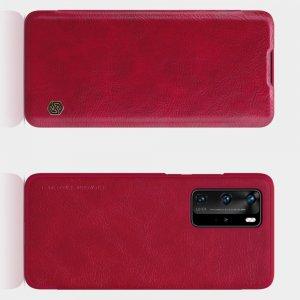 NILLKIN Qin чехол флип кейс для Huawei P40 Pro - Красный