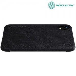 NILLKIN Qin чехол флип кейс для iPhone XR - Черный