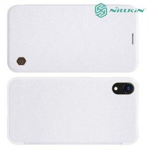 NILLKIN Qin чехол флип кейс для iPhone XR - Белый