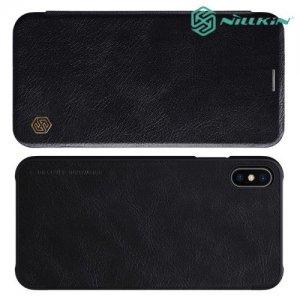 NILLKIN Qin чехол флип кейс для iPhone Xs Max - Черный
