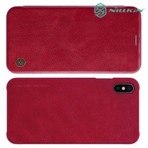 NILLKIN Qin чехол флип кейс для iPhone Xs Max - Красный