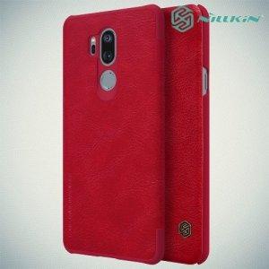 NILLKIN Qin чехол флип кейс для LG G7 ThinQ - Красный